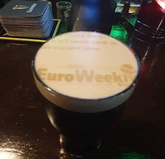 The Euroweekly News can Now be Found on Your Favourite Glass of the Black Stuff!